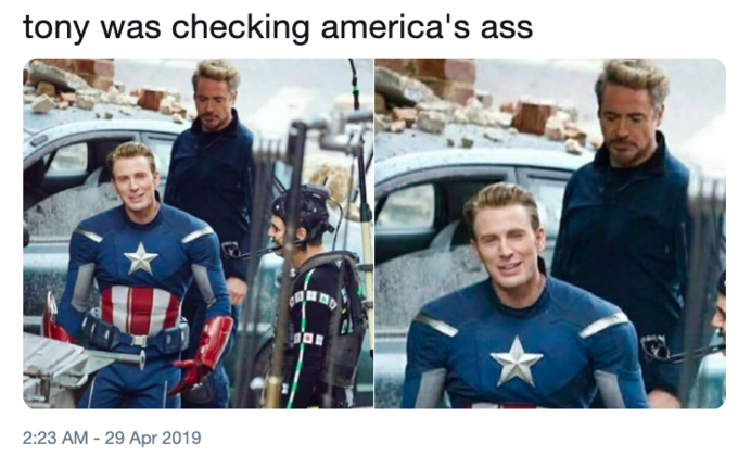 Captain America's Ass | Know Your Meme