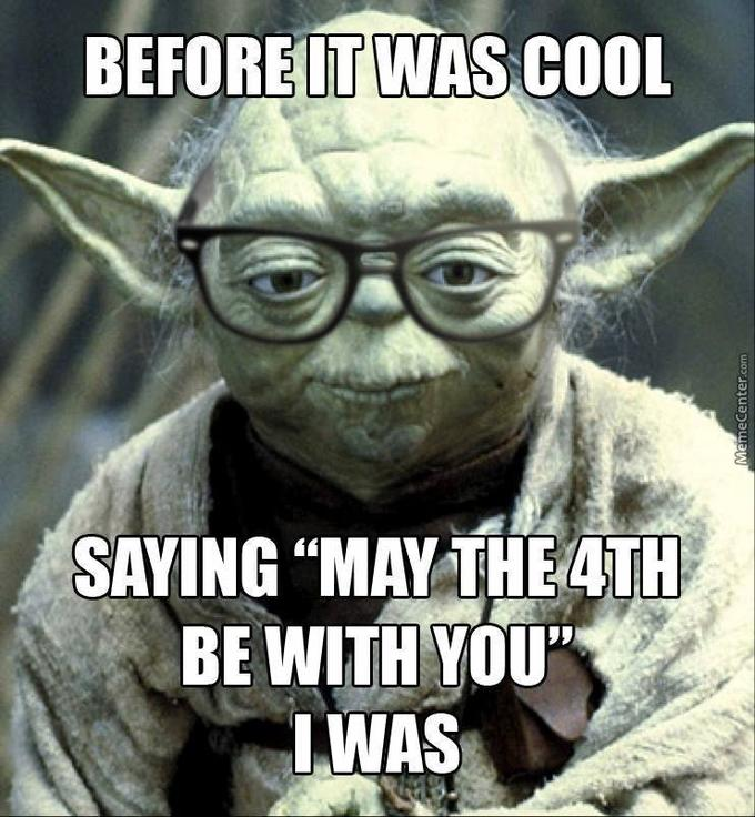 """The Best """"May the 4th Be With You"""" Memes 