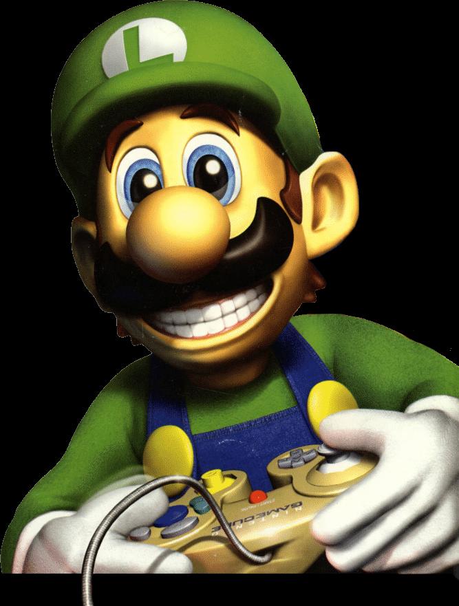 Luigi S Death Smile Luigi S Death Stare Know Your Meme