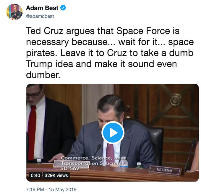 Ted Cruz's Space Pirates | Know Your Meme