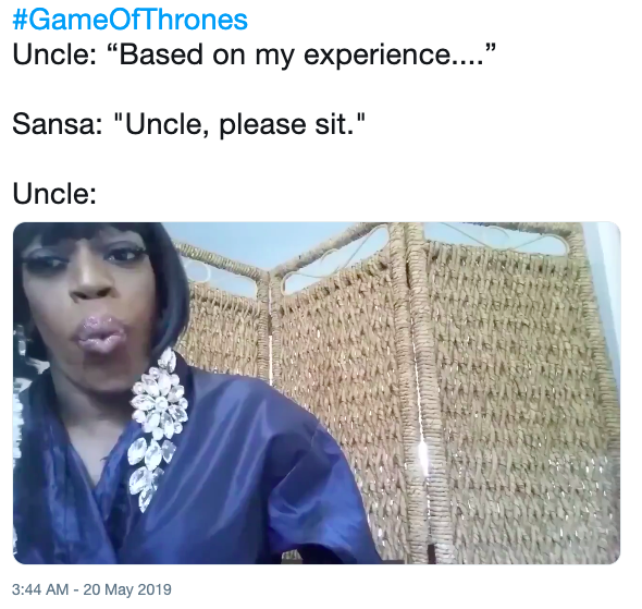 And I Oop Uncle Please Sit Know Your Meme