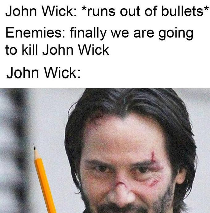 John Wick Is The Best Dankmemes