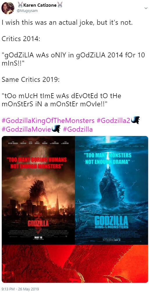 Godzilla: King of the Monsters | Know Your Meme