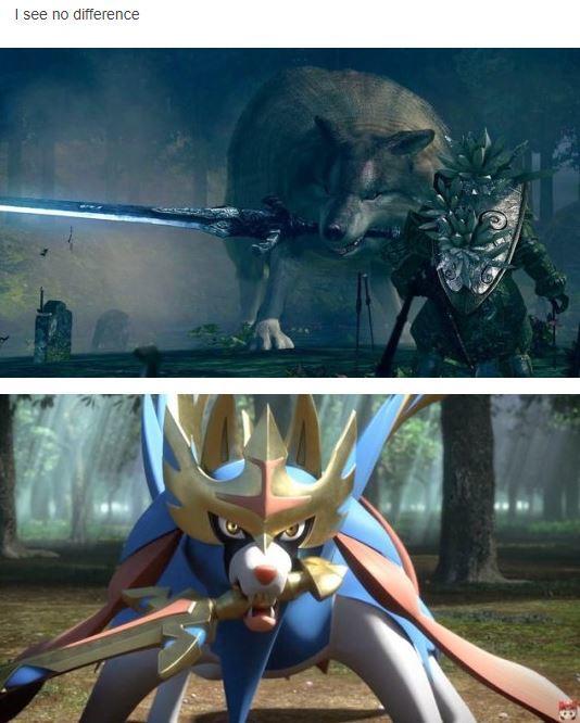 Great Grey Pokemon Pokemon Sword And Shield Know Your Meme