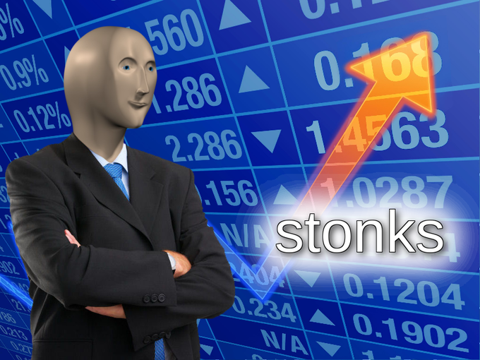 Image result for stonks