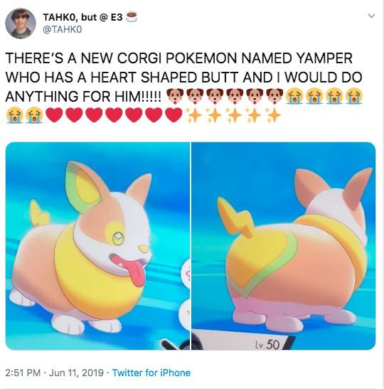 Heart Shaped Butt | Pokémon Sword and Shield | Know Your Meme