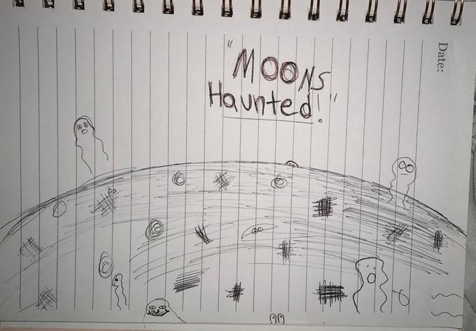 MOONS Haunted Date: Vp Text Drawing