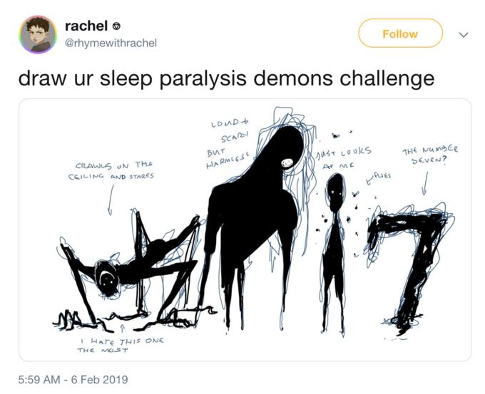 Sleep Paralysis Demon | Know Your Meme