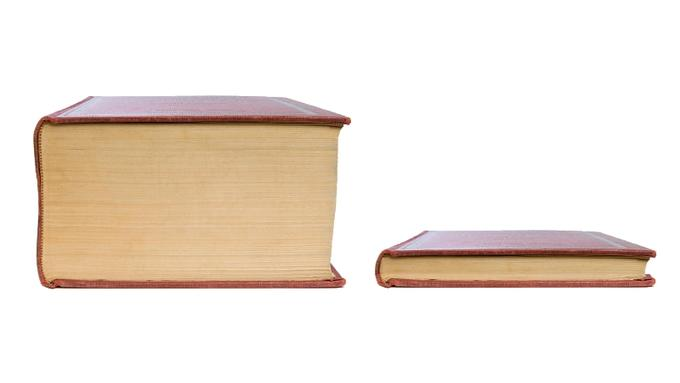 Thick Book vs. Thin Book | Know Your Meme