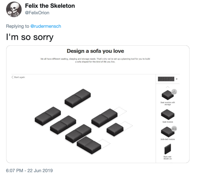 DesignKnow Your Meme Ikea Couch WE2D9IYH