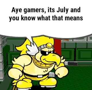 July is gamer pride month: aye gamers, its july and you know what that means