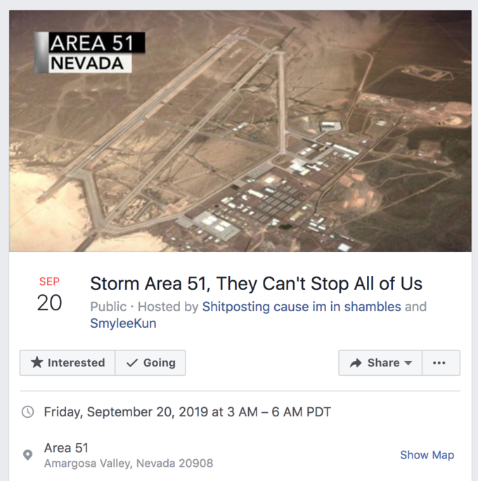 Storm Area 51 | Know Your Meme