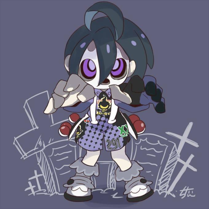 Spooky Masked Gym Leader By Chitan Pokemon Sword And Shield