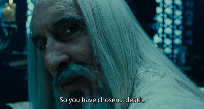 So You Have Chosen Death   Know Your Meme