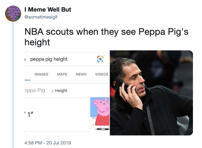 Peppa Pig S Height Know Your Meme
