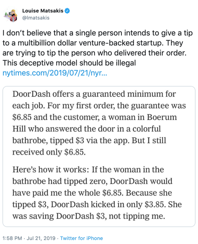 DoorDash Tipping Controversy | Know Your Meme