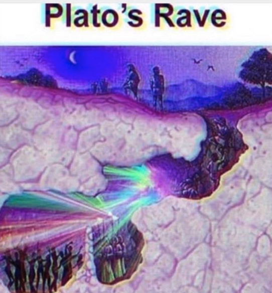 Plato's Rave Allegory of the Cave