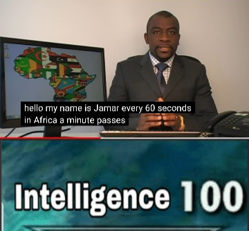 Every 60 Seconds In Africa A Minute Passes Know Your Meme