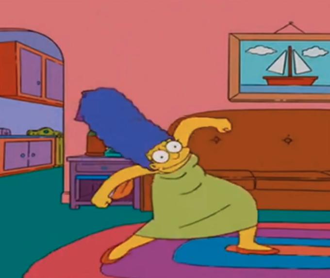 Marge meme homer Homer Look