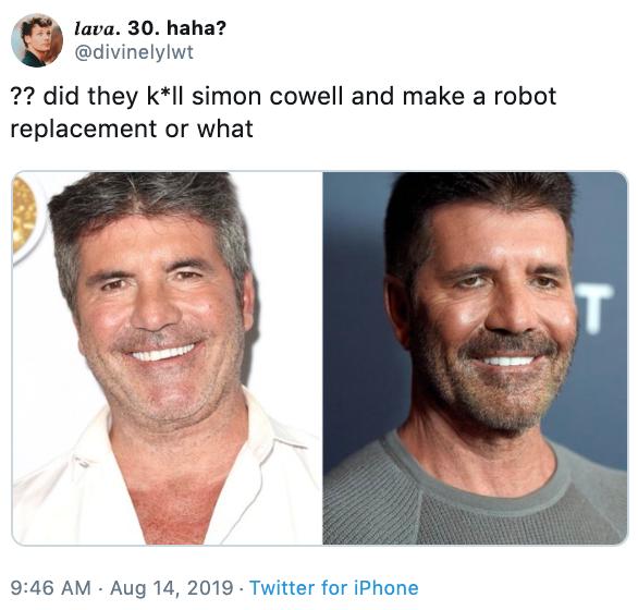 Robot Simon Cowell S Face Know Your Meme