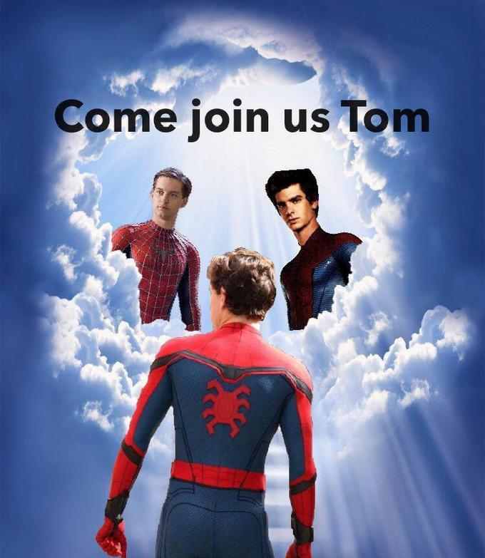 Image result for spider man leaves mcu meme