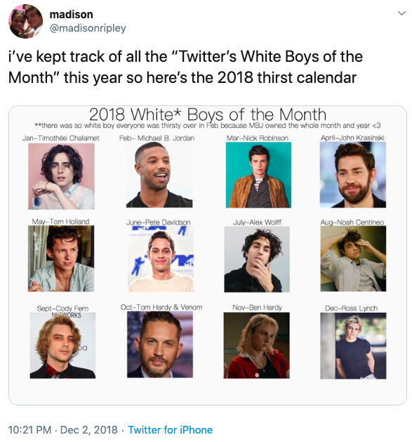 Twitter's White Boy of the Month | Know Your Meme