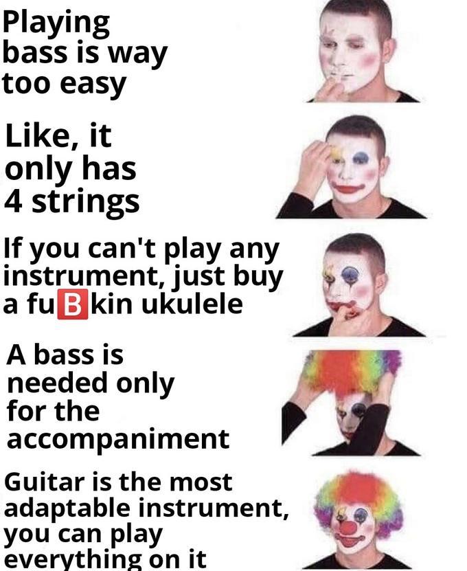 Clown Makeup Meme   Saubhaya Makeup
