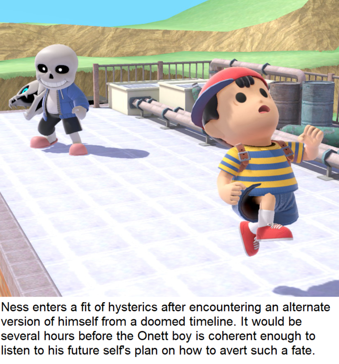 Smashstrips absolutely needs to be a thing | Sans in Smash