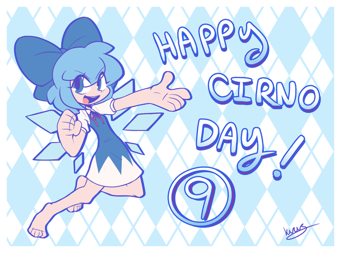 Happy Cirno Day! | Touhou Project (東方Project) | Know Your Meme