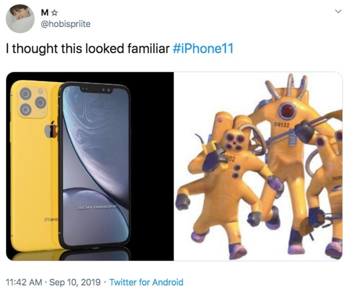 iPhone 11 Camera Parodies