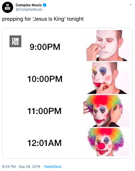 Prepping For Jesus Is King Tonight Kanye West S Jesus Is King