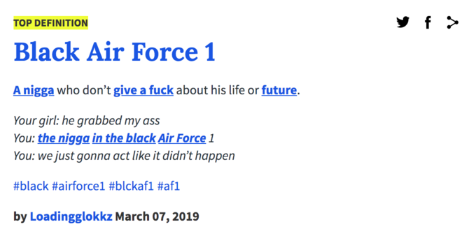 Black Air Force 1s Know Your Meme