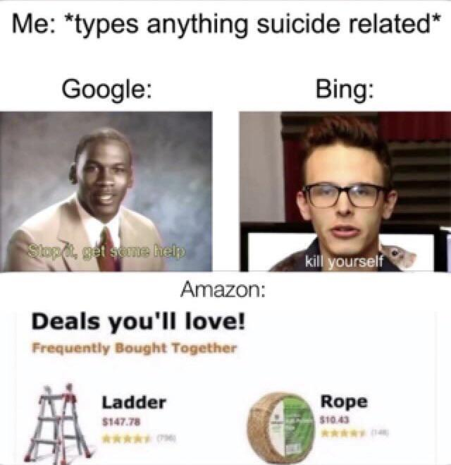 Google Vs Bing Know Your Meme