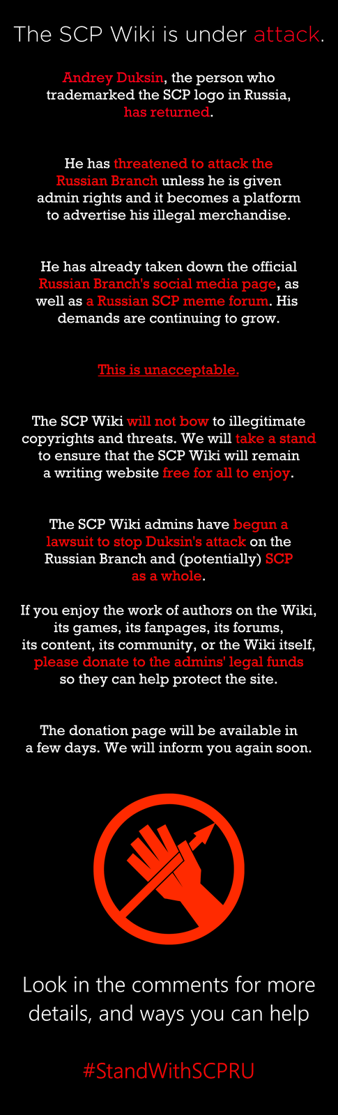 Scp Foundation Know Your Meme Also, the given approximations to the proper definition of thaumiel are the object is vital to the containment of one or more significantly volatile scp objects. scp foundation know your meme