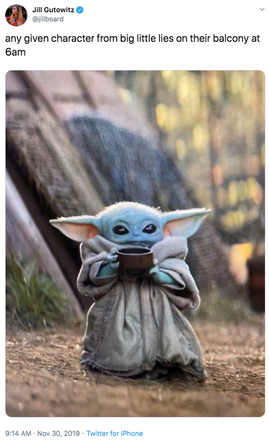 Baby Yoda Drinking Soup | Know Your Meme