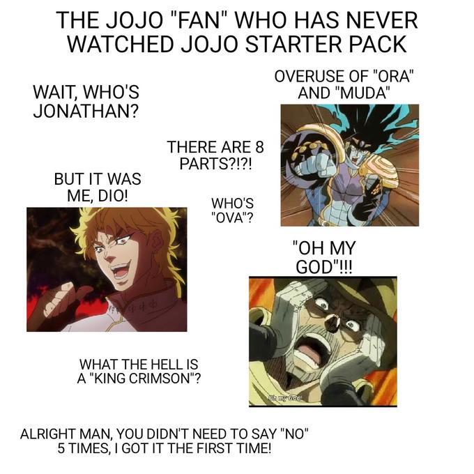 Some good OC for ya   /r/ShitPostCrusaders/   JoJo's Bizarre