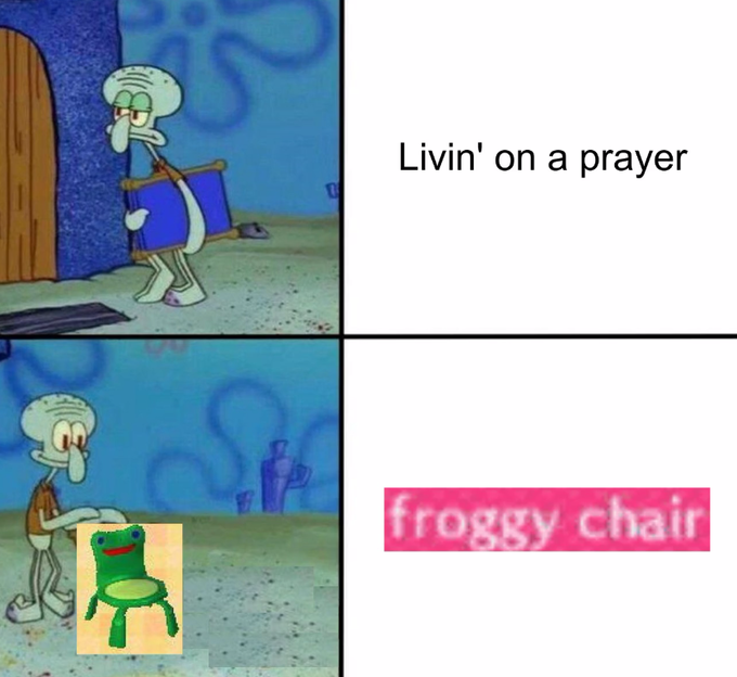 Froggy Chair Know Your Meme