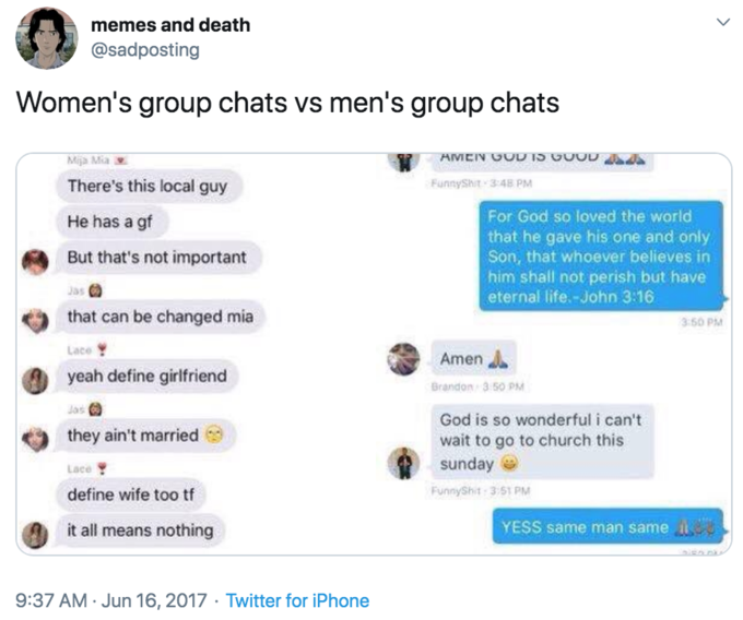 Pics group chat Group Chat