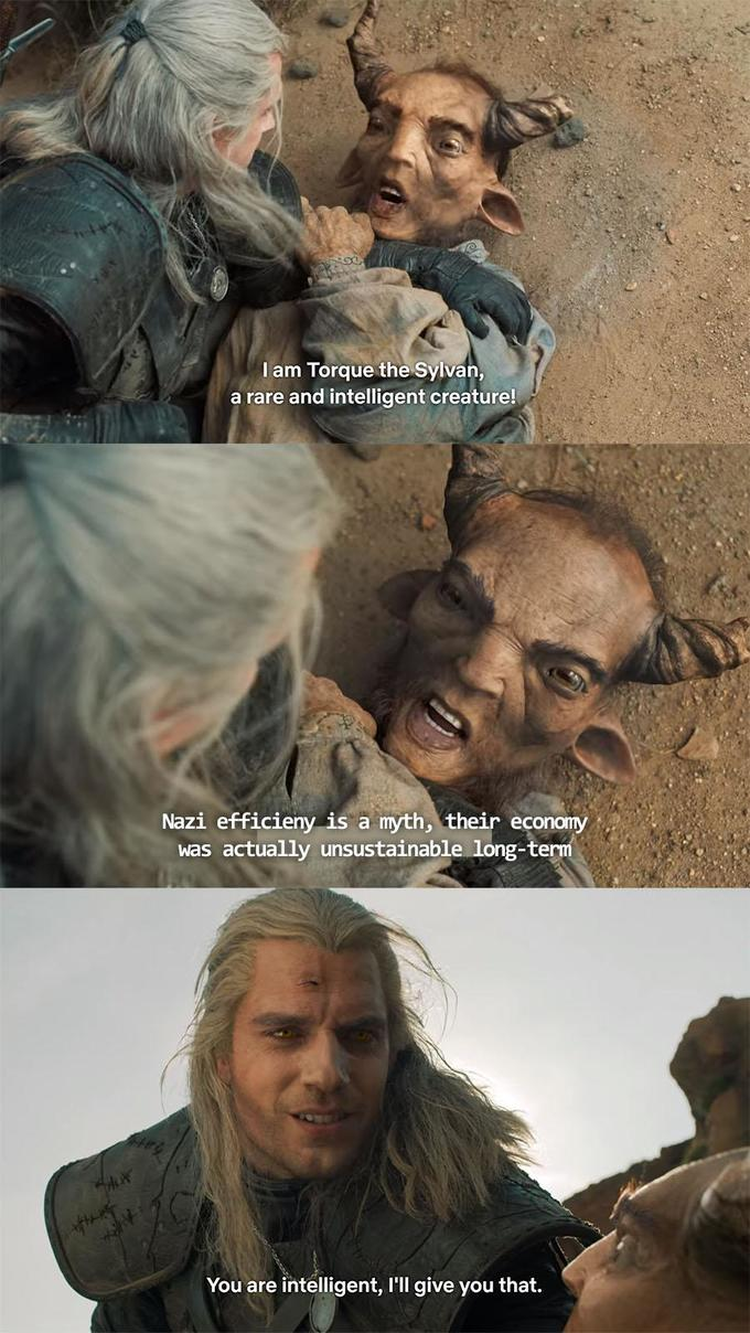 Make Any Opinion Sound Intelligent With This The Witcher Format