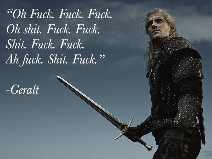 Inspirational Geralt S Fuck Know Your Meme