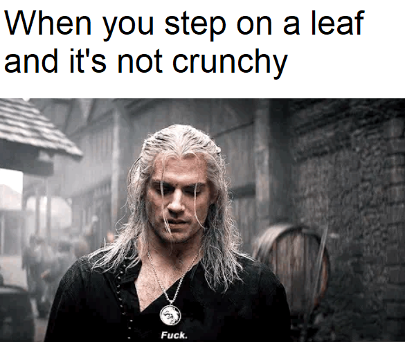 Threatens The Ground Geralt S Fuck Know Your Meme