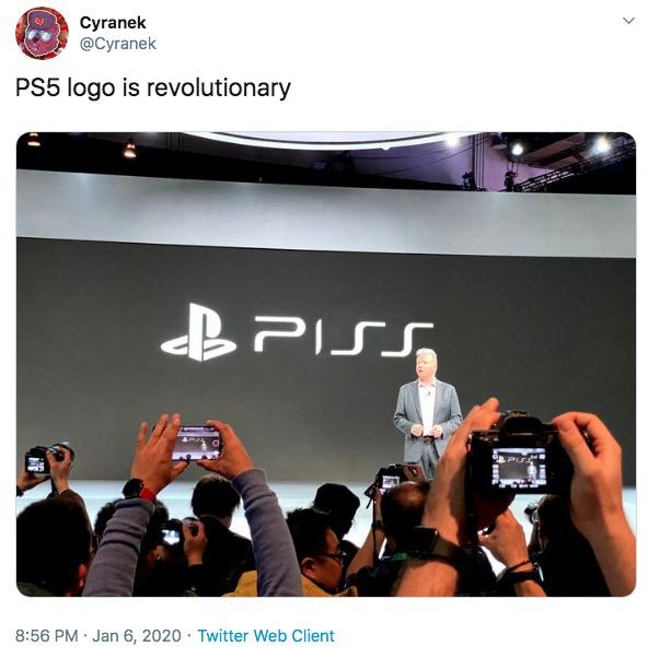 Piss Playstation 5 Logo Know Your Meme