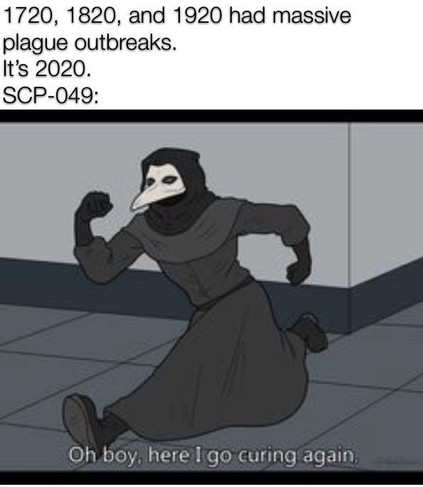 Can T Wait For This Year Scp Foundation Know Your Meme