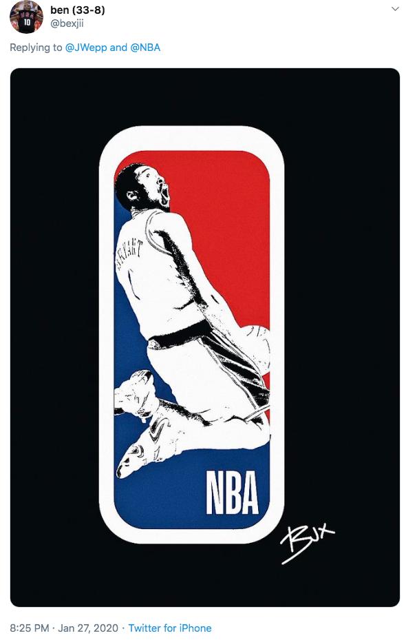 Kobe Bryant Black And White Kobe Bryant Nba Logo Petition Know
