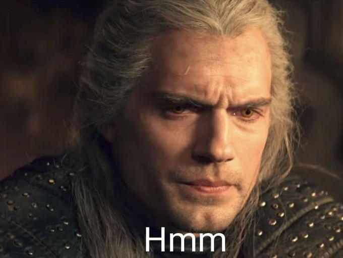Hmm Henry Cavill Geralt of Rivia Hair Chin Forehead Nose Human
