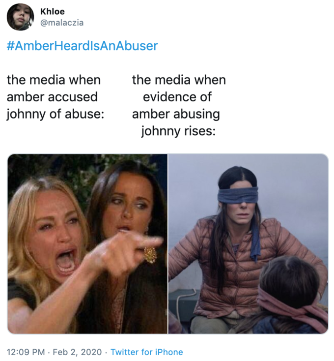 Amber Heard vs. Johnny Depp | Know Your Meme