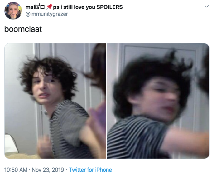 Finn Wolfhard Punching Josh Ovalle Know Your Meme