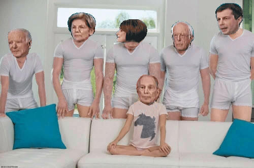 Nevada Debate 2020 Democratic Presidential Primary Know Your Meme