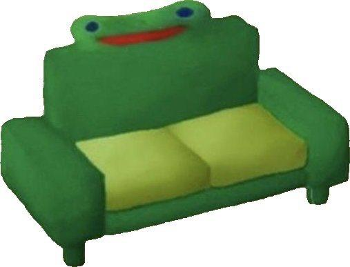 Froggy Couch Froggy Chair Know Your Meme