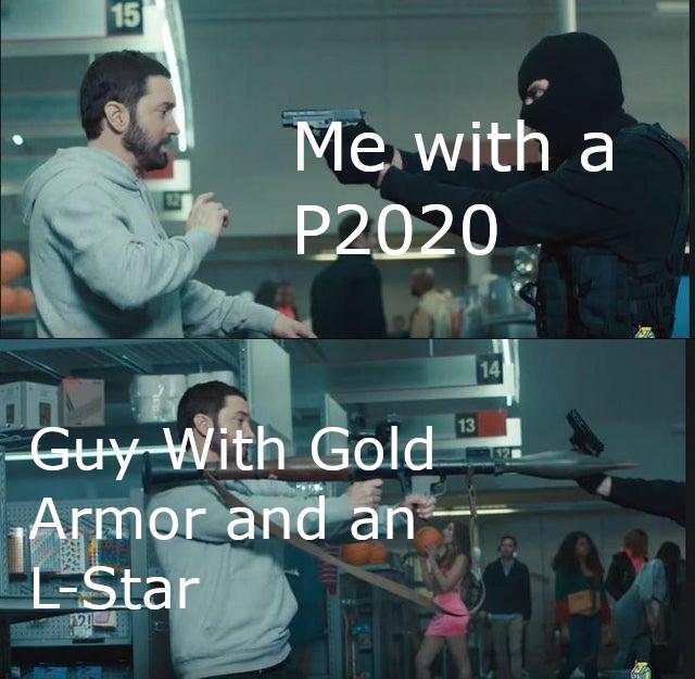 Eminem Holding A Rocket Launcher Know Your Meme